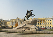 Bronze Horseman – Monument to Peter the Great at St. Petersburg, Russia