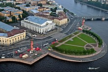 Vasilevskiy Island in St. Petersburg
