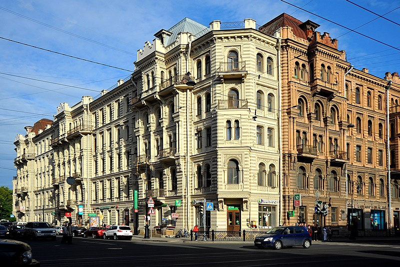 muruzi apartment house in st petersburg russia. Black Bedroom Furniture Sets. Home Design Ideas