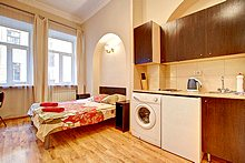 One Room Apartments Kazanskaya Ulitsa in St. Petersburg, Russia