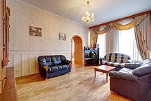 Three Room Apartments Nevsky Prospekt in St. Petersburg, Russia