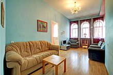 Three Room Apartments Ostrovskogo Ploshchad in St. Petersburg, Russia