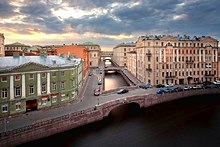 St. Petersburg Bridges by river or canal