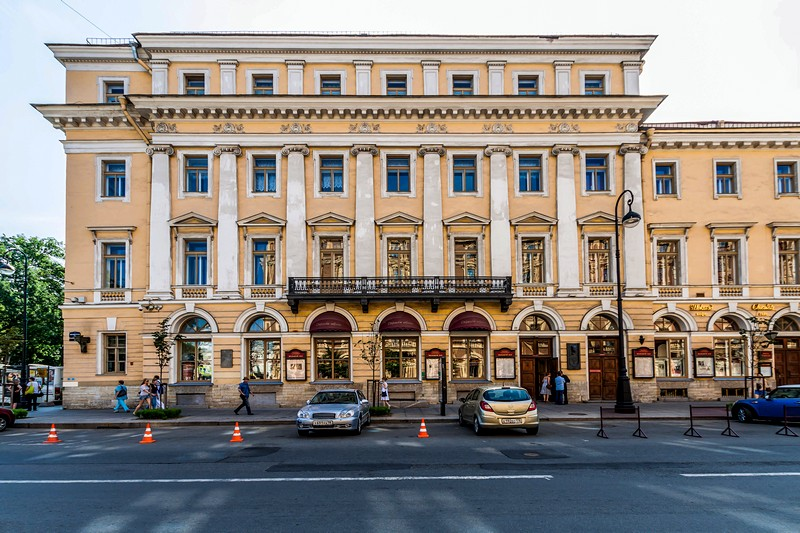 St. Petersburg Philharmonic in St Petersburg, Russia