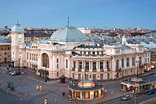 Stations and Other Transport Buildings, St. Petersburg, Russia