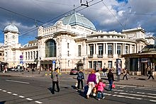 Vitebsk Rail Station, St. Petersburg, Russia