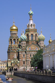 Church of the Resurrection of Jesus Christ, St. Petersburg, Russia