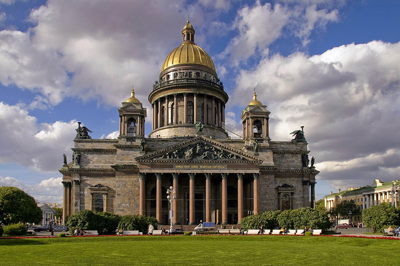 St Isaac S Cathedral In St Petersburg Russia