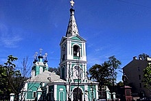 St. Sampson Cathedral in St. Petersburg, Russia
