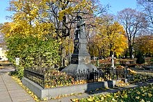 Novodevichy Cemetery, St. Petersburg, Russia