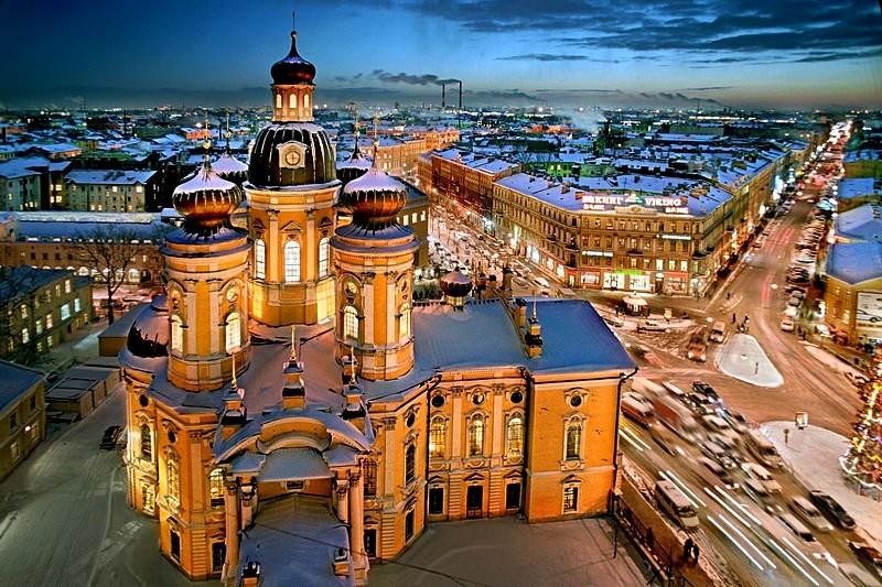 Rusija Vladimirskiy-cathedral-in-st-petersburg