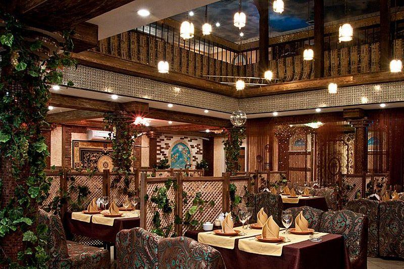 Caravan Saray Restaurant In St Petersburg Russia