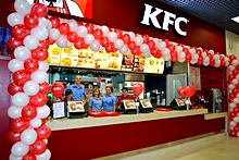 Kfc Restaurant in St. Petersburg, Russia