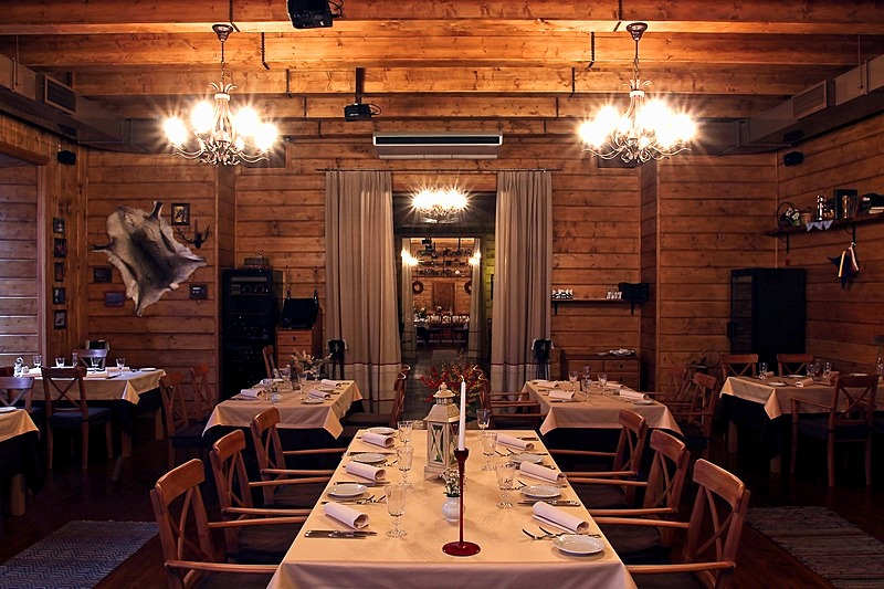 Laplandia Restaurant in St. Petersburg, Russia