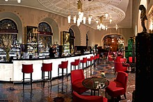 Lobby Bar Grand Hotel Europe Restaurant in St. Petersburg, Russia