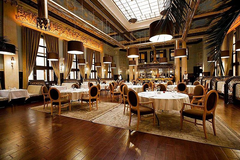 Brasserie De Metropole Restaurant In St Petersburg