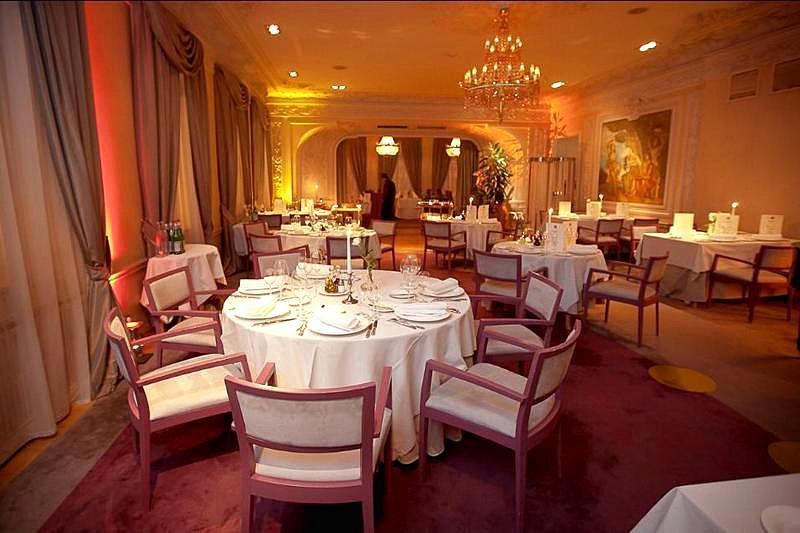 Palkin Restaurant In St Petersburg Russia