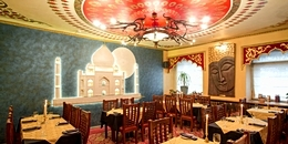 Tandoor restaurant in St. Petersburg, Russia
