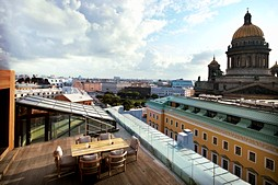 Great Outdoors The Best Al Fresco Dining In St Petersburg