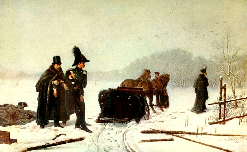 Alexander Pushkin's Duel with Georges d'Anthes (1884)