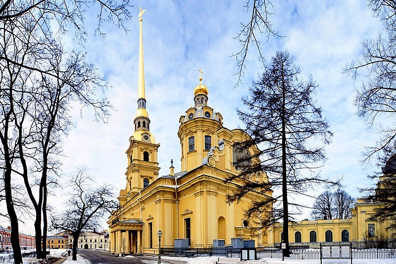 Ss. Peter and Paul Cathedral in St Petersburg, Russia