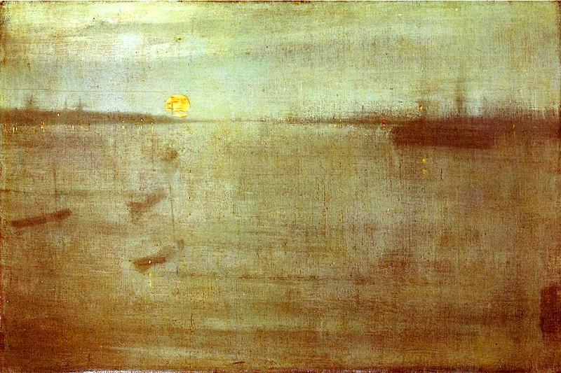 'Nocturne: Blue and Gold' by James Abbot McNeill Whistler