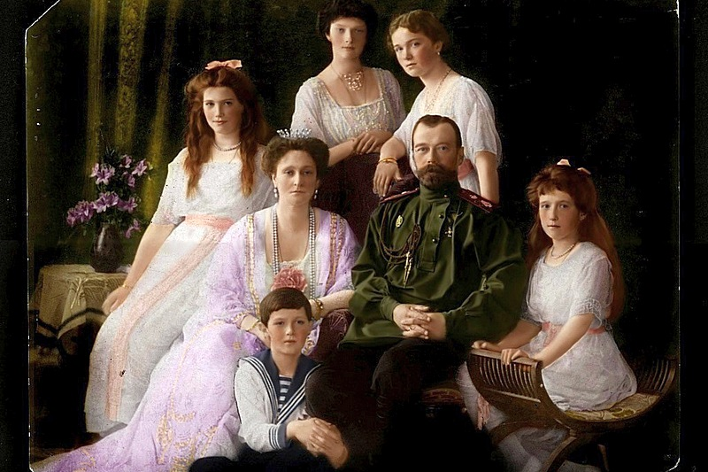 The Russian Imperial Family c. 1913
