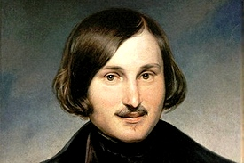 Portrait of Nikolay Gogol painted by Otto Friedrich Theodor von Möller