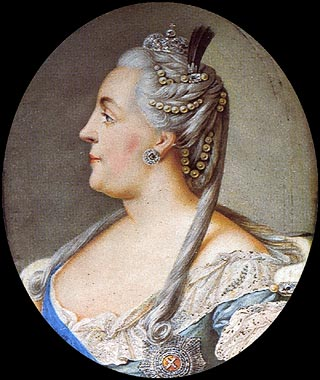 Catherine the Great (Catherine II) in the history of St ...