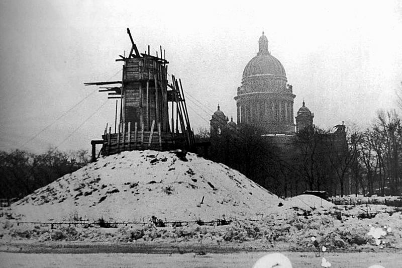 History of St  Petersburg during World War II