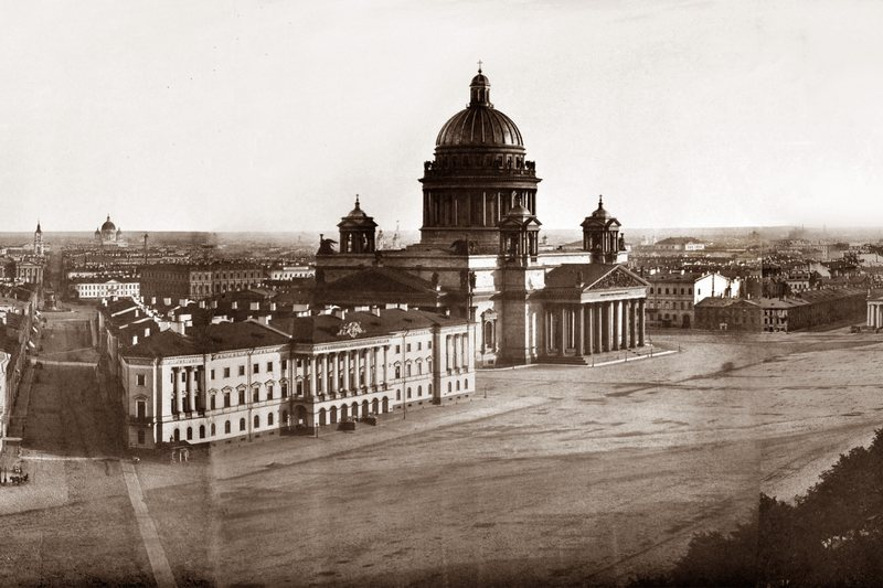 St. Petersburg. Panorama in 13 frames, taken from the tower of the Admiralty (Part 4) in St. Petersburg, Russia