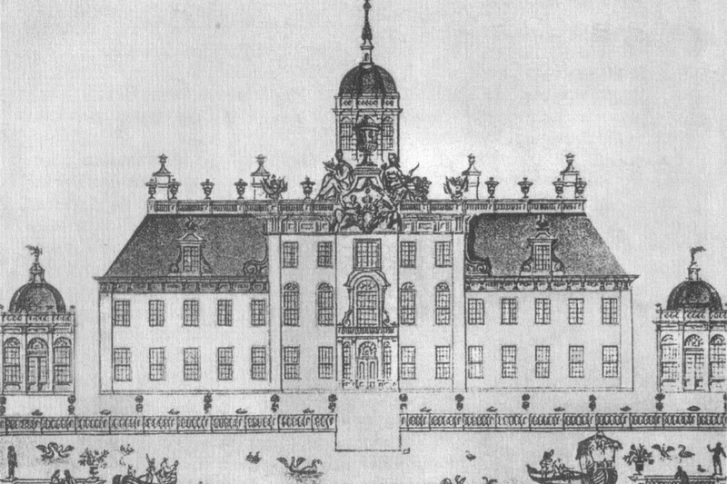 Architectural sketches of the Podzorny Palace by Steven van Zwieten