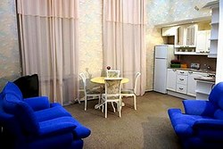 Apartment at the 3MostA Hotel in St. Petersburg