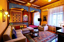 Marrakesh Deluxe Room at the Alexander House Hotel in St. Petersburg