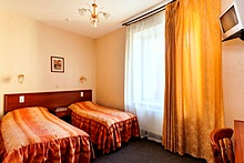 Economy Twin Room at the AlexanderPlatz Hotel in St. Petersburg