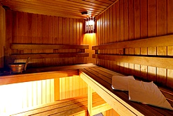 Sauna at the AlexanderPlatz Hotel in St. Petersburg