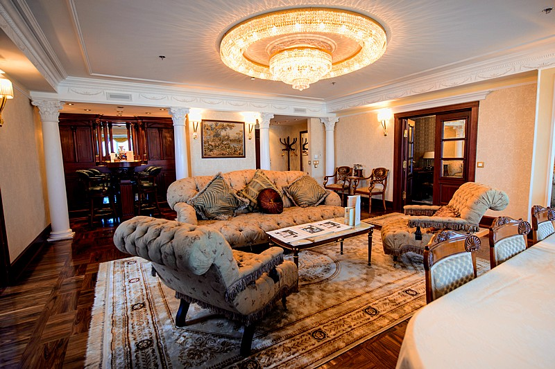 Presidential Apartment at the Ambassador Hotel in St. Petersburg
