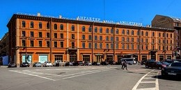 Angleterre Hotel in St. Petersburg, Russia