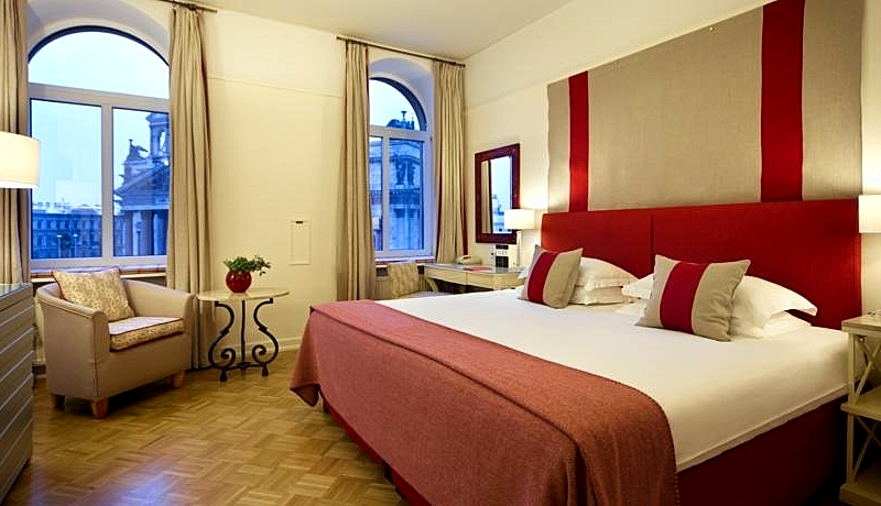Superior Deluxe Double Room at the Angleterre Hotel in St. Petersburg