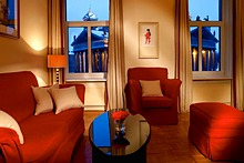 Deluxe Suite at the Angleterre Hotel in St. Petersburg