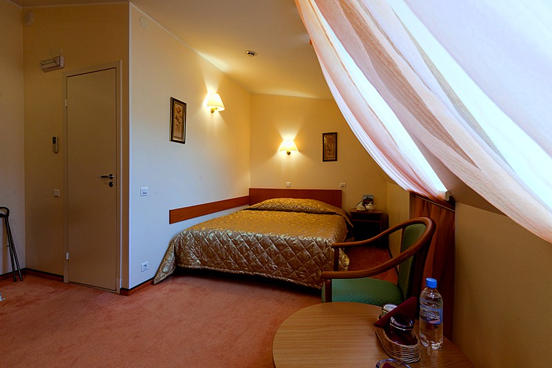 Standard Double Room at the Arbat Nord Hotel in St. Petersburg