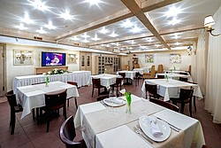 Restaurant at the Arbat Nord Hotel in St. Petersburg