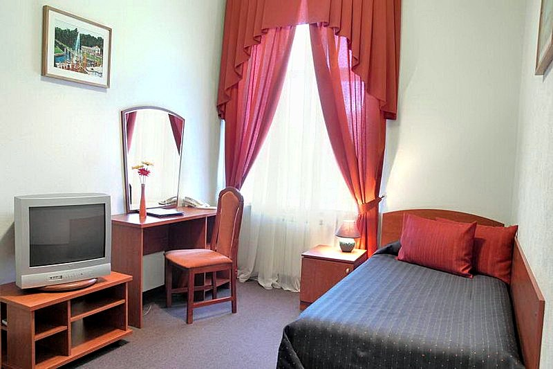 Standard Single Room at the Asteria Hotel in St. Petersburg