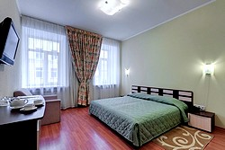 One-bedroom Apartment at the Atrium Hotel in St. Petersburg