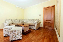 Two-bedroom Apartment at the Atrium Hotel in St. Petersburg