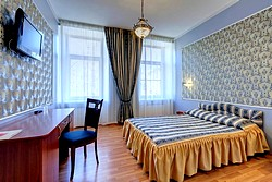 Standard Double Room at the Atrium Hotel in St. Petersburg