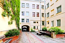 Austrian Yard Apartments in St. Petersburg