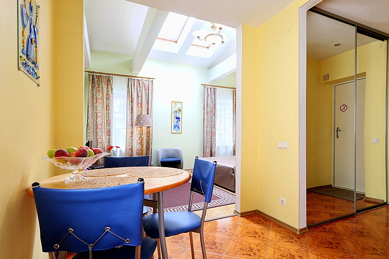 Family Studio at the Austrian Yard Apartments in St. Petersburg