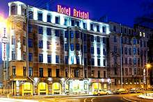 Bristol Hotel in St. Petersburg