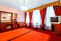 Deluxe Double Room at the City Hotel Comfitel in St. Petersburg